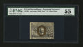 Fractional Currency:Second Issue, Fr. 1290 25¢ Second Issue PMG About Uncirculated 55....
