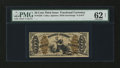 Fractional Currency:Third Issue, Fr. 1356 50¢ Third Issue Justice PMG Uncirculated 62 Net....