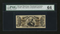 Fractional Currency:Third Issue, Fr. 1328 50¢ Third Issue Spinner PMG Choice Uncirculated 64....