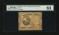 Colonial Notes:Continental Congress Issues, Continental Currency May 9, 1776 $6 PMG Choice Uncirculated 64....