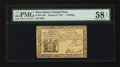 Colonial Notes:New Jersey, New Jersey January 9, 1781 1s PMG Choice About Unc 58 EPQ....