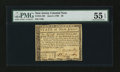Colonial Notes:New Jersey, New Jersey June 9, 1780 $8 PMG About Uncirculated 55 EPQ....