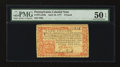 Colonial Notes:Pennsylvania, Pennsylvania April 10, 1777 £4 PMG About Uncirculated 50 EPQ....