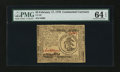 Colonial Notes:Continental Congress Issues, Continental Currency February 17, 1776 $3 PMG Choice Uncirculated64 EPQ....