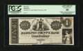 Obsoletes By State:Ohio, Newtown, OH- Newtown Library Co. (Hamilton County Bank) $1 G2 Wolka1976-01 Proof. ...