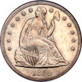Seated Dollars, 1854 $1 MS62 NGC....