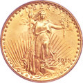 Saint-Gaudens Double Eagles, 1915 $20 MS65 PCGS....