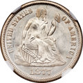 Seated Dimes, 1877 10C MS67 NGC....