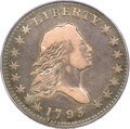 Early Half Dollars, 1795 50C 2 Leaves VF20 PCGS. CAC....