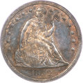 Seated Dollars, 1852 $1 Original Genuine PCGS....