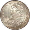 Bust Half Dollars, 1807 50C Capped Bust, Large Stars MS65 PCGS. CAC....