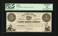 Obsoletes By State:Kentucky, Covington, KY- The Licking Bridge Company $5 Hughes UNL Proof. ...