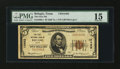 National Bank Notes:Texas, Refugio, TX - $5 1929 Ty. 1 The First NB Ch. # 12462 . ...