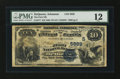National Bank Notes:Arkansas, DeQueen, AR - $10 1882 Value Back Fr. 577 The First NB Ch. # (S)5929. ...