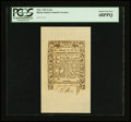 Colonial Notes:Rhode Island, Rhode Island May 1786 2s 6d PCGS Superb Gem New 68PPQ....