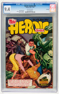 Golden Age (1938-1955):Adventure, Heroic Comics #63 File Copy (Eastern Color, 1950) CGC NM 9.4 Off-white pages....