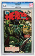 Golden Age (1938-1955):Non-Fiction, Heroic Comics #77 File Copy (Eastern Color, 1952) CGC NM 9.4Off-white pages....
