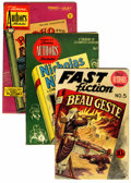 Golden Age (1938-1955):Classics Illustrated, Stories by Famous Authors Illustrated Group Plus (Seaboard Pub.,1950-51) Condition: VG.... (Total: 9 Comic Books)
