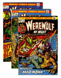 Bronze Age (1970-1979):Horror, Werewolf by Night Group (Marvel, 1972-76) Condition: AverageFN/VF.... (Total: 23 Comic Books)