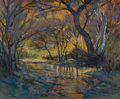 Texas:Early Texas Art - Regionalists, MICHAEL ETIE (American, 1948). Lost Maples Canyon. Pastel onboard. 16 x 20 inches (40.6 x 50.8 cm). Signed lower right:...