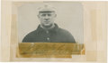 Baseball Collectibles:Others, John McGraw Signed Cut Signature....
