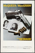 "Movie Posters:Action, The Getaway Lot (National General, 1972). Cardstock One Sheet(26.5"" X 40"") and One Sheet (27"" X 41""). Action.. ... (Total: 2Items)"
