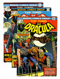 Bronze Age (1970-1979):Horror, Tomb of Dracula Group (Marvel, 1974-79) Condition: Average VF....(Total: 46 Comic Books)