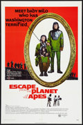 """Movie Posters:Science Fiction, Escape from the Planet of the Apes (20th Century Fox, 1971). OneSheet (27"""" X 41""""). Science Fiction.. ..."""