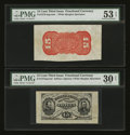 Fractional Currency:Third Issue, Fr. 1274SP 15¢ Third Issue Wide Margin Pair Choice New.... (Total: 2 notes)