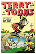 Golden Age (1938-1955):Funny Animal, Terry-Toons Comics #28 (Timely, 1945) Condition: VF+....