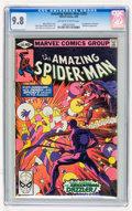 Modern Age (1980-Present):Superhero, The Amazing Spider-Man #203, 204, and 206 Group (Marvel, 1980) CGCNM/MT 9.8 Off-white to white pages.... (Total: 3 Comic Books)