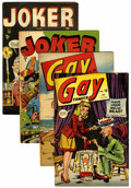 Golden Age (1938-1955):Miscellaneous, Basil Wolverton Timely Comics Group (Timely, 1943-47).... (Total: 4 Comic Books)
