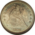 Seated Quarters, 1878 25C MS65 NGC....