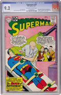 Silver Age (1956-1969):Superhero, Superman #149 (DC, 1961) CGC NM- 9.2 Off-white to white pages....