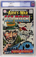 Silver Age (1956-1969):War, Our Army at War #158 Boston pedigree (DC, 1965) CGC NM 9.4 Off-white to white pages....