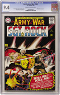 Silver Age (1956-1969):War, Our Army at War #163 (DC, 1966) CGC NM 9.4 Cream to off-white pages....