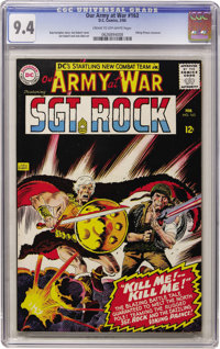 Our Army at War #163 (DC, 1966) CGC NM 9.4 Cream to off-white pages