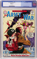 Silver Age (1956-1969):War, Our Army at War #132 (DC, 1963) CGC NM- 9.2 Off-white pages....
