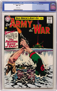 Our Army at War #146 (DC, 1964) CGC NM- 9.2 Off-white pages
