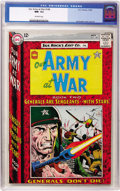 Silver Age (1956-1969):War, Our Army at War #148 (DC, 1964) CGC NM- 9.2 Off-white pages....