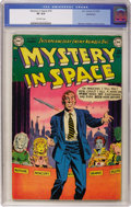 Golden Age (1938-1955):Science Fiction, Mystery in Space #10 Bethlehem pedigree (DC, 1952) CGC VF 8.0Off-white pages....