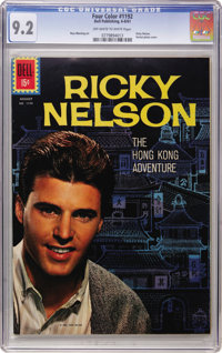 Four Color #1192 Ricky Nelson (Dell, 1961) CGC NM- 9.2 Off-white to white pages