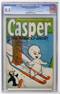 Golden Age (1938-1955):Cartoon Character, Casper the Friendly Ghost #8 File Copy (Harvey, 1953) CGC VF+ 8.5 Cream to off-white pages....