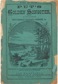Western Expansion:Goldrush, 1858 Gold Rush-Era California Song Book Put's GoldenSongster....