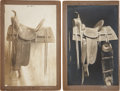 Photography:Cabinet Photos, Saddle Maker's Samples: Lot of Four Boudoir Cabinet Photographs....(Total: 4 Items)