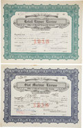 Miscellaneous:Gaming Chips, Slot Machine and Liquor Licenses From Goldfield, Nevada, 1915....