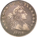 Early Half Dollars, 1806 50C 6 Over Inverted 6 VF35 PCGS....