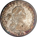 Early Half Dimes, 1797 H10C 13 Stars VF25 PCGS....