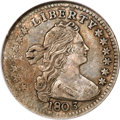 Early Half Dimes, 1803 H10C Large 8 VF25 NGC....
