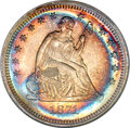 Proof Seated Quarters, 1871 25C PR67 NGC....
